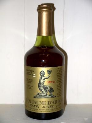 Vin jaune arbois 1972 Henri Maire
