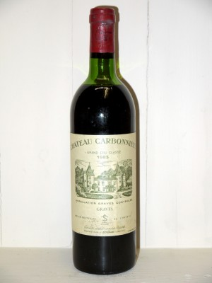 Grands vins Bordeaux Château Carbonnieux 1983
