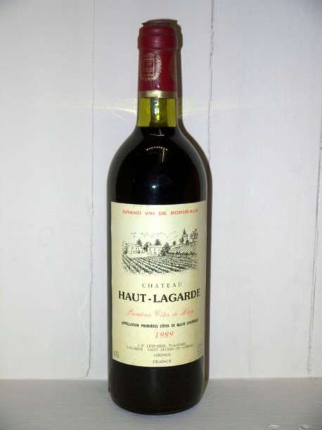 Château Haut-Lagarde 1989