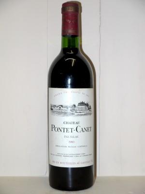 Château Pontet Canet 1983