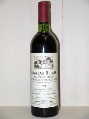 Château Belair 1981