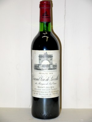 Grands crus Saint-Julien Château Leoville Las Cases 1979