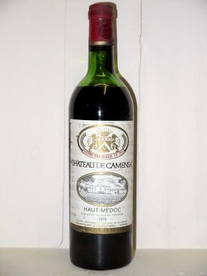 Vins anciens Haut-Médoc Château Camensac 1975