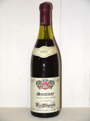 Santenay 1983 Paul Dugenais