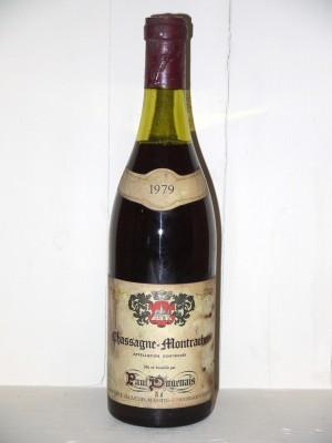 Grands vins Chassagne-Montrachet - Puligny-Montrachet Chassagne-Montrachet 1979 Paul Dugenais
