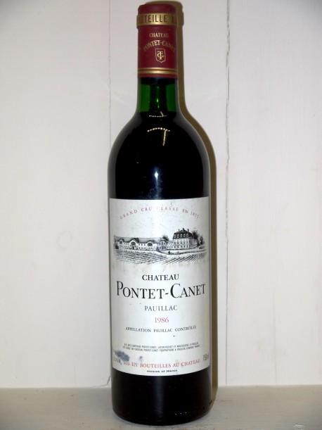 Château Pontet Canet 1986