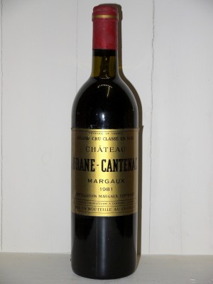 Château Brane-Cantenac 1981