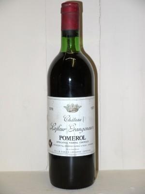 Grands crus Pomerol - Lalande de Pomerol Château Lafleur Grangeneuve 1979