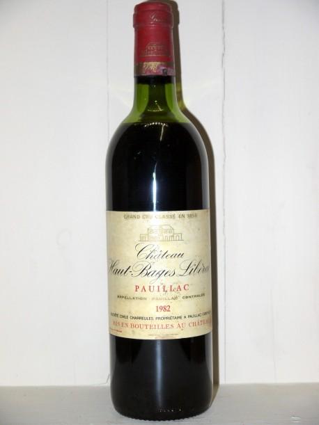 Château Haut Bâges Libéral 1982