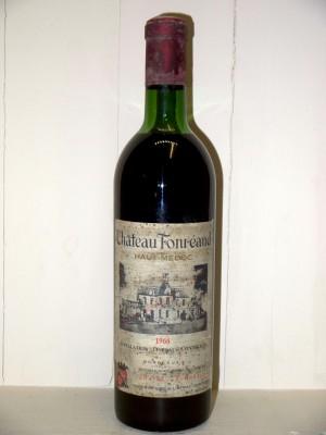 Grands vins Listrac-Médoc - Moulis-en-Médoc Château Fonréaud 1966
