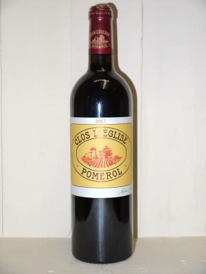 Grands vins Pomerol - Lalande de Pomerol Clos l'église 2007