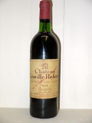 Vins grands crus Bordeaux Château Léoville Poyferré 1974