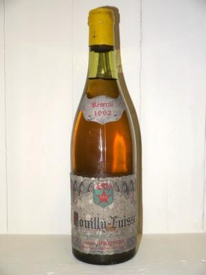 Pouilly-Fuissé 1962 Antoine Dépaqueux