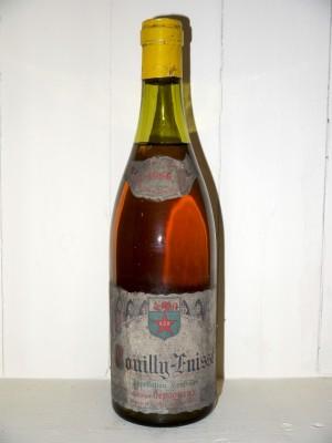 Pouilly-Fuissé 1966 Antoine Dépaqueux