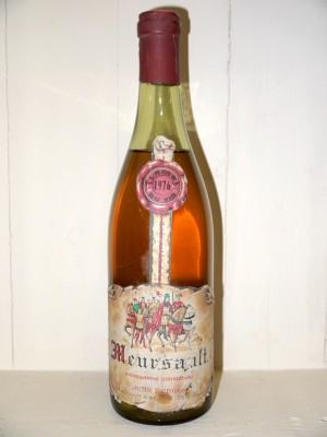 Grands crus Meursault Meursault 1976 Jean Berger