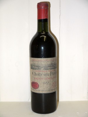 Grands crus Pomerol - Lalande de Pomerol Château Pavie 1957