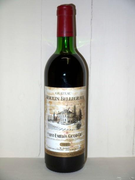 Château Moulin de Bellegrave 1981