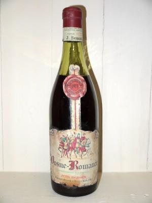 Grands vins Vosne-Romanée Vosne Romanée 1973 Jean Berger