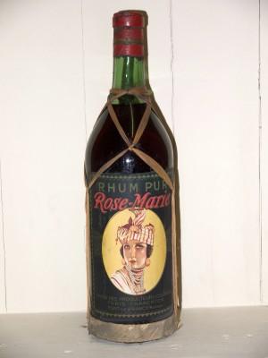 Rhum ancien Rhum Pur Rose-Marie Années 50/60 Union des producteurs coloniaux