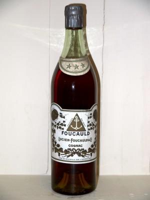 Cognac de prestige  Cognac 3 étoiles Lucien Foucauld années 1900