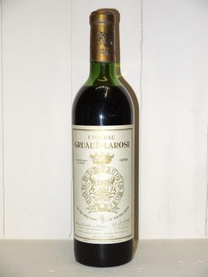 Vins de collection Bordeaux Château Gruaud Larose 1959