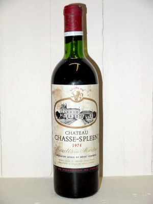 Château Chasse Spleen 1974