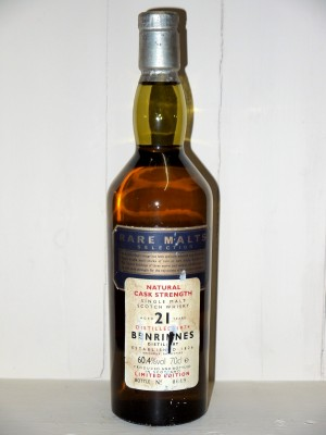 Grand Whisky Benrinnes 1974 21 ans d'äge Rare Malt Selection Limited Edition