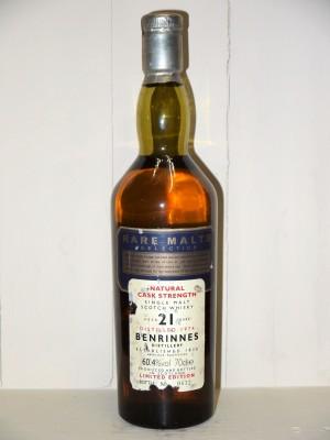 Benrinnes 1974 21 ans d'âge Rare Malt Selection Limited Edition