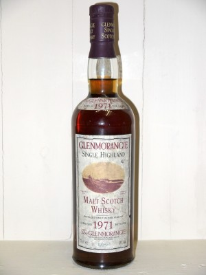Whisky de collection Glenmorangie 1971 Limited Bottling