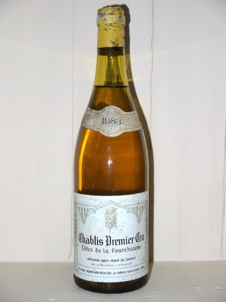 """Chablis 1er Cru 1983 """"Côtes de la Fourchaume"""" Domaine Philippon"""