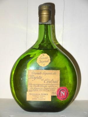Grande Liqueur de Myrte & Cédrat Les liqueurs Impériales