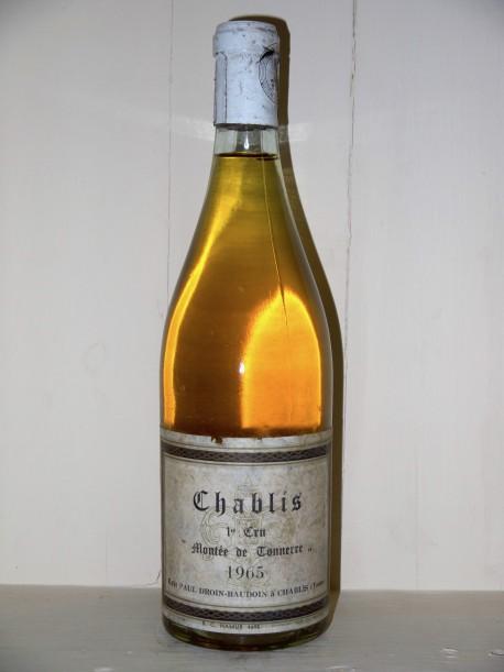 """Chablis 1er Cru 1965 """"Montée de Tonnerre"""" Paul Droin-Baudoin"""
