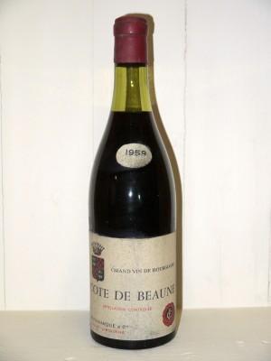 Côte de Beaune 1959 Fauvarque