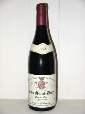 Grands vins Morey-Saint-Denis Clos Saint Denis Grand Cru 1998 Domaine Castagnier