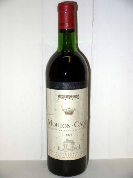Mouton Cadet 1971