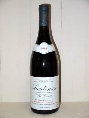 """Santenay 2003 """"Clos Genets"""" Domaine Dufouleur"""