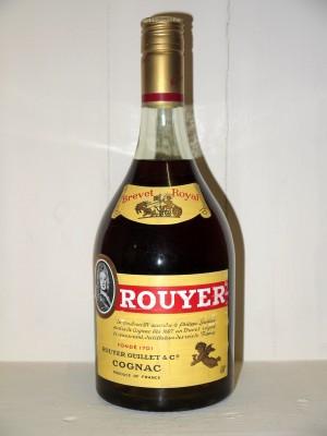 Cognac de collection Rouyer Guillet Brevet Royal en coffret années 70/80
