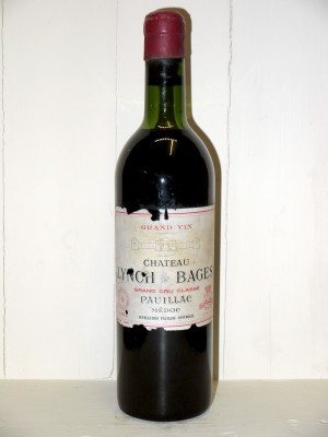 Vins de collection Bordeaux Château Lynch Bages 1964
