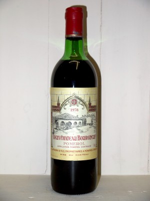 Vieux Château Bourgneuf 1978