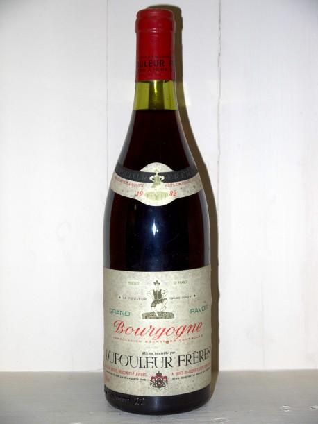 Bourgogne 1982 Dufouleur Frères