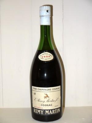 Cognac de collection  Fine Champagne VSOP Rémy Martin Années 60 en coffret d'origine