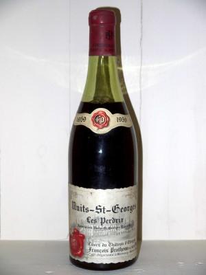 """Vins anciens Nuits-Saint-Georges Nuits-Saint-Georges """"Les Perdrix"""" 1959 Domaine François Protheau"""