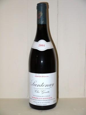 """Santenay 2004 """"Clos Genets"""" Domaine Dufouleur"""