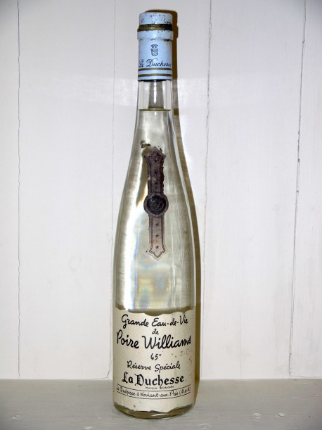 """Grande eau-de-vie de poire williams """"Reserve Speciale"""" La Duchesse"""