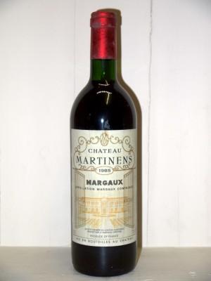 Château Martinens 1985