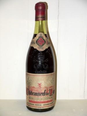 """Grands crus Châteauneuf du Pape Chateauneuf du Pape 1952 """"Le Vieux Moulin"""" Henri Jourdan"""