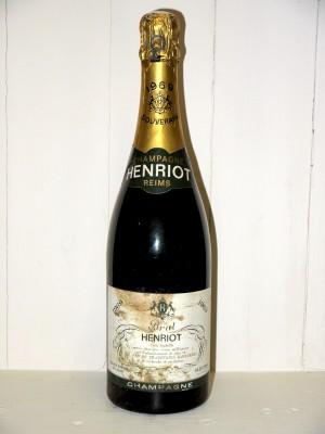 Grands crus de Champagne Champagne Henriot 1969 Brut Souverain