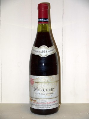 Mercurey 1983 Maison Moillard