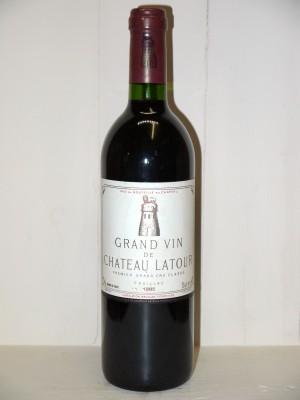 Grands vins Pauillac Château Latour 1985