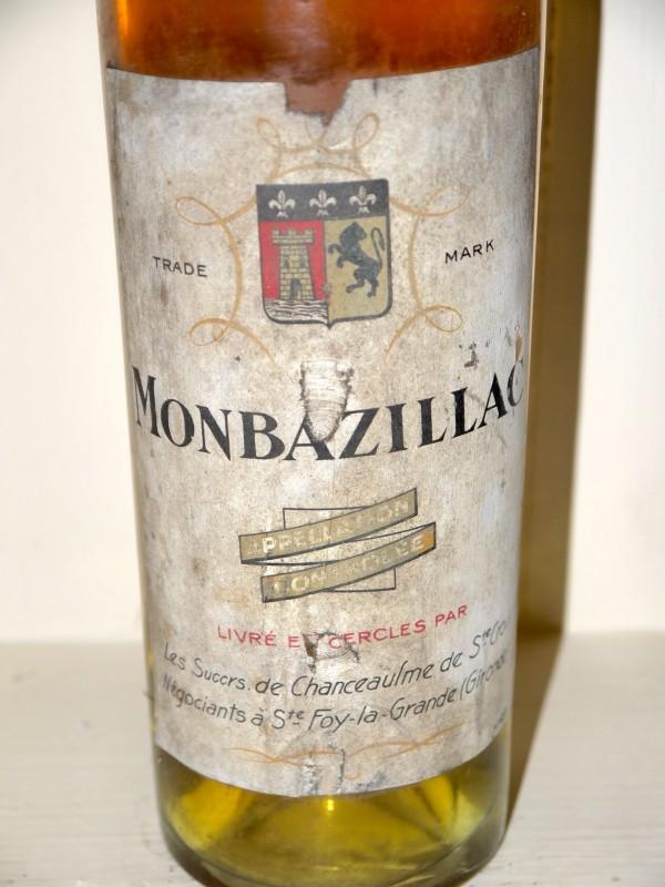 Monbazillac 1940 - Au droit de bouchon